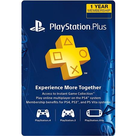 Sony playstation plus card per a 365 dies/spa sps9809449