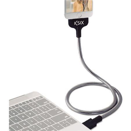 Todoelectro.es cable datos/carga flexteel usb - micro usb 2.4a acero inox conbxcflex01