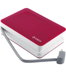Todoelectro.es power bank 4000 mah + cable usb-micro usb integrado rosa conbxba4000cir - 8427542065069