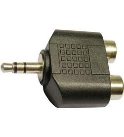 Techlink adaptador jack 3,5 mm estéreo (m) - 2 x rca (h) tech1440 - 8435419514404