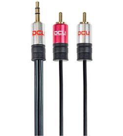 Todoelectro.es 30701220 conexion jack 3,5 st. m - 2 rca m 1m dcu - 8436556981944