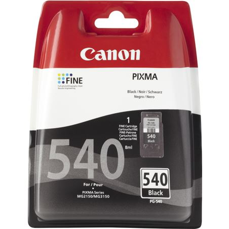 Cartucho tinta Canon pg-540 bl negro 5225B004