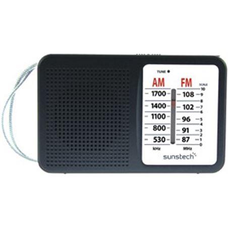 Radio portátil Sunstech rps411blisbk, negra RPS411BK