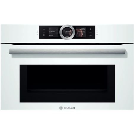 Horno independiente  Bosch CMG6764W1, multifuncion