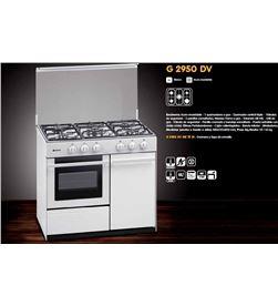 Cocina gas Meireles G2950DVW but 5f 91cm blanca Cocinas a gas - G2950DVWBUT