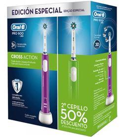 Cepillo dental Braun oral-b duo pro600 verde+morado DUOPRO600_VM - DUOPRO600_VM
