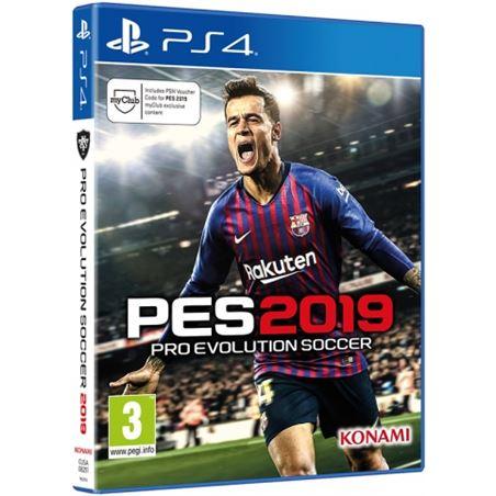 Todoelectro.es juego ps4 pro evolution soccer 2019 ps4sp19