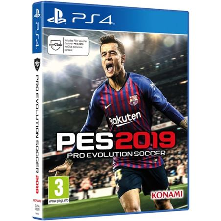 Todoelectro.es juego ps4 pro evolution soccer 2019 ps4sp19