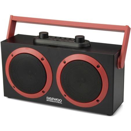 Altavoz daewoo Dsk-340 karaoke bluetooth fm usb sd negro DBF231