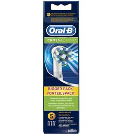0000456 recanvi raspall dental braun*p&g eb50-5cross actii eb50-5crossacti - EB50-5CROSSACTJ
