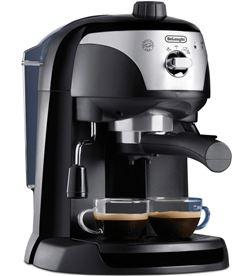 Delonghi cafetera espresso frontal silver, apta para monodo ec221b - EC221CD