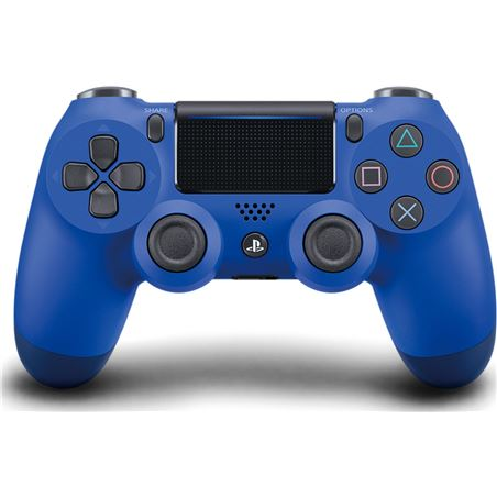 Sony mando ps4 dual shock controller blue med v2 9893851
