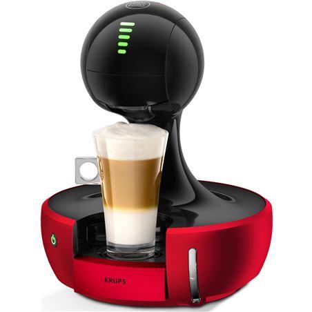 Cafetera dolce gusto Krups KP3505IB drop roja