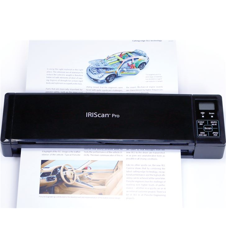 Escaner portatil wifi Iriscan pro3 con bateria +sd 458071 - 458071