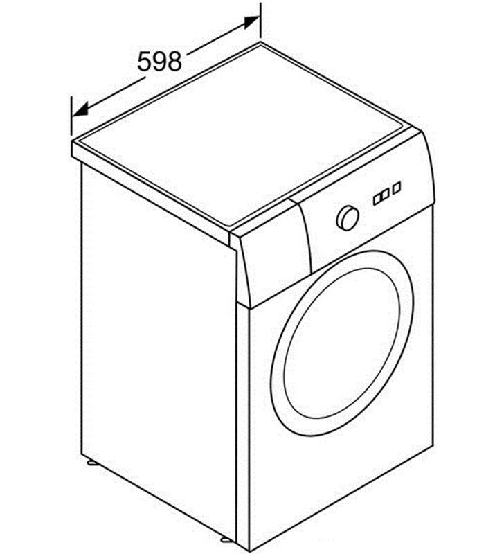 Lavadora carga frontal  Bosch WAK24278EE 8kg 1200rpm bl a+++ - 31263429_0220