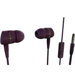 Auricular boton 38012 Vivanco rojo Auriculares - 38012