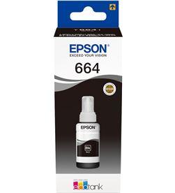 Epson C13T664140 botella tinta recargable t6641 para ecotank negro - EPSC13T664140