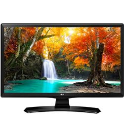 24'' monitor Lg fhd scaled, blanca, peana de arco, 24TK410VWZ - 24TK410VWZ