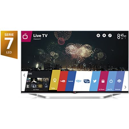 65'' tv led 3d Lg 65LB730V, 800hz, smart tv