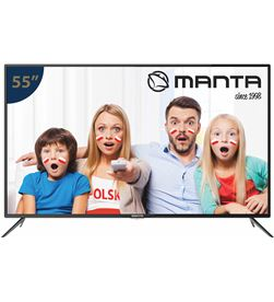 Todoelectro.es tv led 55'' manta 55lua57l ultra hd 4k smart tv manled55lua57l - L7WEE962