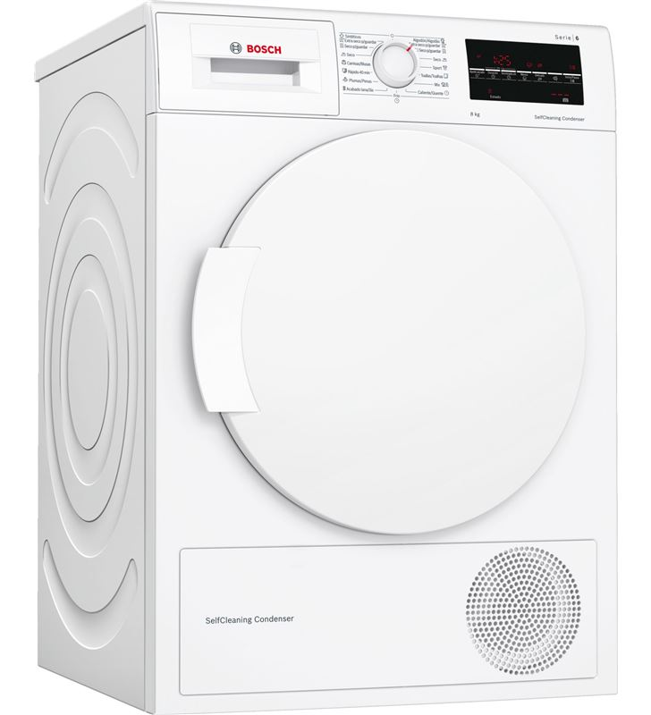 Bosch, WTW87641ES, secadora, bomba de calor, a+++, libre instalación, 60 cm - WTW87641ES