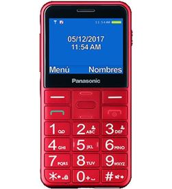 Movil Panasonic kx-tu150exr 2.4'' bluetooth rojo KXTU150EXR - 5025232882670