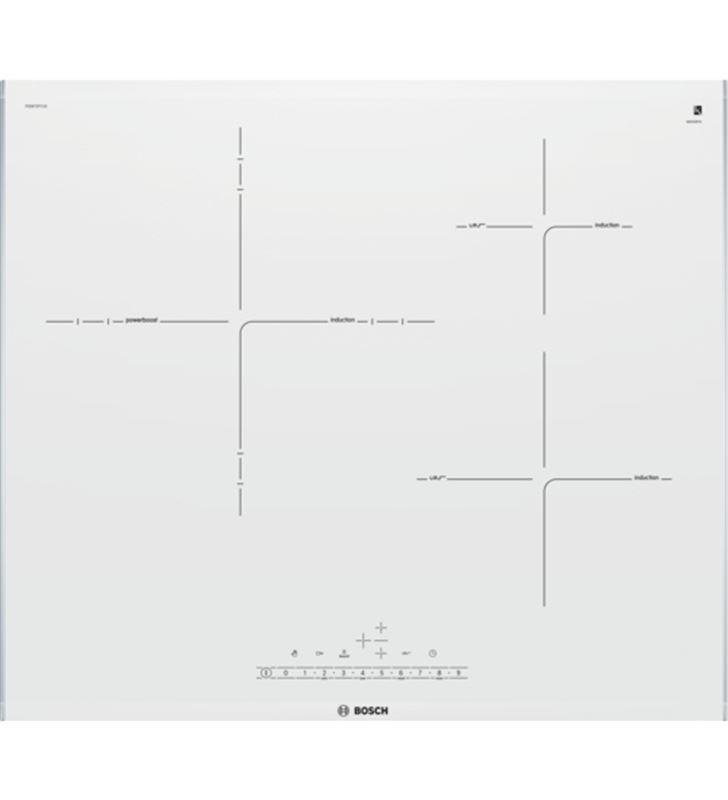 Placa inducción  independiente  Bosch pid672fc1 3 zonas 60 cm PID672FC1E - PID672FC1E