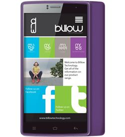 Billow S501HDW telefono 5'' quad core purpura Terminales telefono smartphone - S501HDW