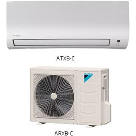 (2) conjunto a.a Daikin inverter AXB50C tecnologia