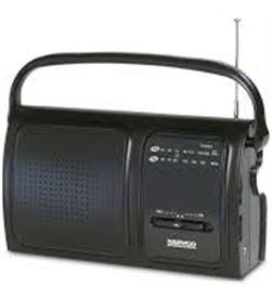 Radio analógica Daewoo drp19, am/fm, altavoz integ DBF076 - DBF076