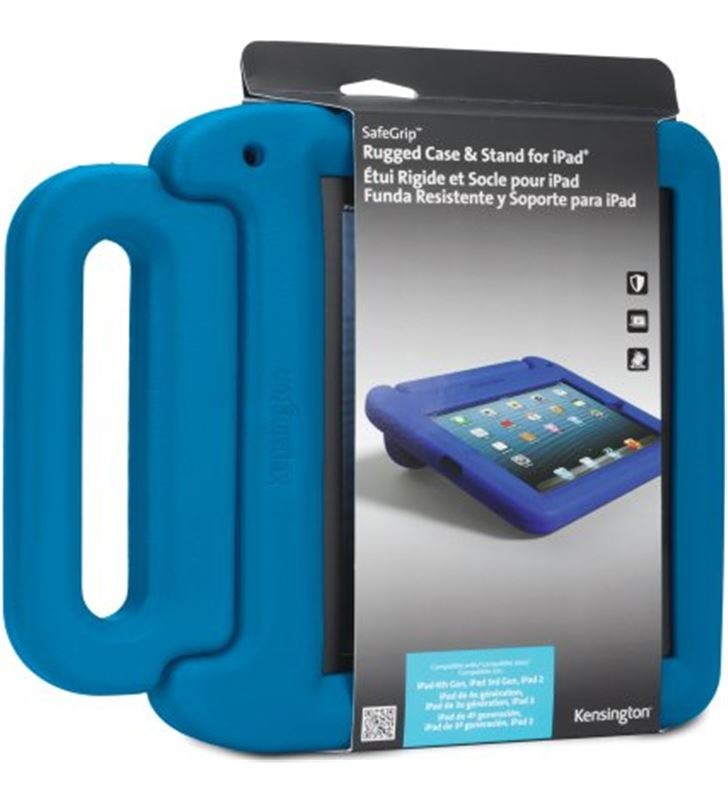 Funda Kensington safegrip ipad retina azul K67793EU - 18057099-ACCO-K67793EU-1-15