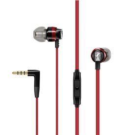 Auriculares boton Sennheiser cx300s microfono control remoto rojo 508595 - 508595