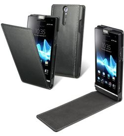 Funda slim negra xperia u Made for xperia SESLI0017 - SESLI0017