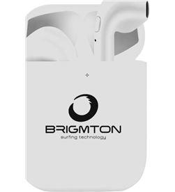 Brigmton BML18B auriculares boton bml-18-b bluetooth blancos - BML18B