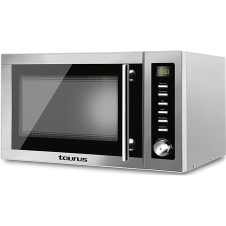 Microondas grill 25l Taurus laurent inox 970938