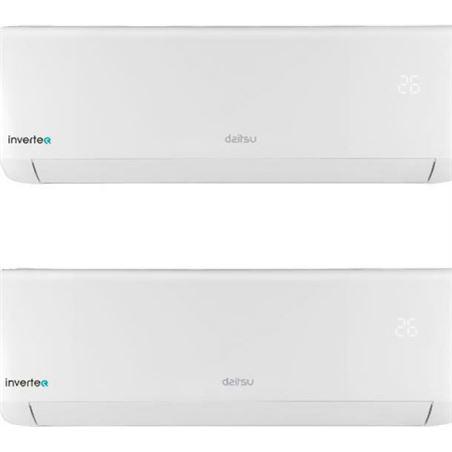 Fujitsu aire acondicionado pared multi split 2x1 daitsu asd912k11i_db 2752+2150 fri