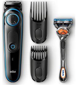 Barbero Braun bt 5040 + maquinilla manual gillette fusion5 proglide BT5040 - BRABT5040
