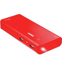 Power bank 10.000 mah Trust primo summer rojo 22752 - TRU22752