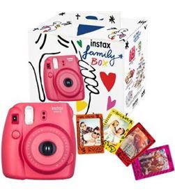 Kit Fujifilm instax mini 8 family box roja+imanes+ 70100138394 - 3660662025451
