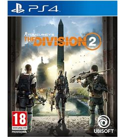 Sony juego ps4 tom clancy's the division 2 ps4std2 - 3307216080527
