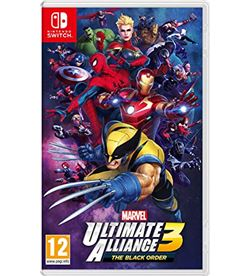 Juego Nintendo switch marvel ultimate alliance 3: the black order 2525281 - 045496423414