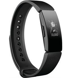 Fitbit inspire negra pulsera de actividad con pantalla oled táctil y correa FB412BKBK INSPI - +20257