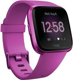 Fitbit versa lite lila aluminio smartwatch reloj deportivo con pantalla tác FB415PMPM VERSA - +20263