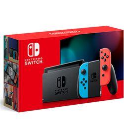Nintendo 10002207 consola switch hw azul/roja neon - 10002207