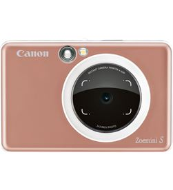 Canon zoemini s oro rosa cámara 8mpx impresora instantánea 5x7.6cm ZOEMINI S ROSE - +20515