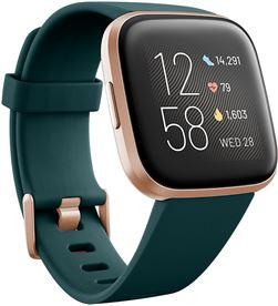 Fitbit FB507RGPE VERSA 2 esmeraldaire acondicionado luminio smartwatch reloj de salud y for - +21311