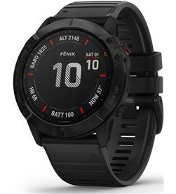 Garmin FÉNIX 6X PRO NEgro con correa negra 51mm smartwatch premium multidep - +21323