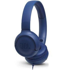 Jbl TUNE 500 AZUL auriculares pure bass cable plano sin enredos - +95896