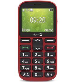 Todoelectro.es doro 1361 rojo móvil senior dual sim 2.4'' cámara 2mp bluetooth radio fm mi - +98646