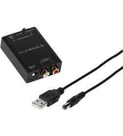 Vivanco 46143 conversor audio digital - audio analógico - VIV46143